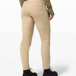 Lululemon City Sleek 5 Pocket 7/8 Khakis